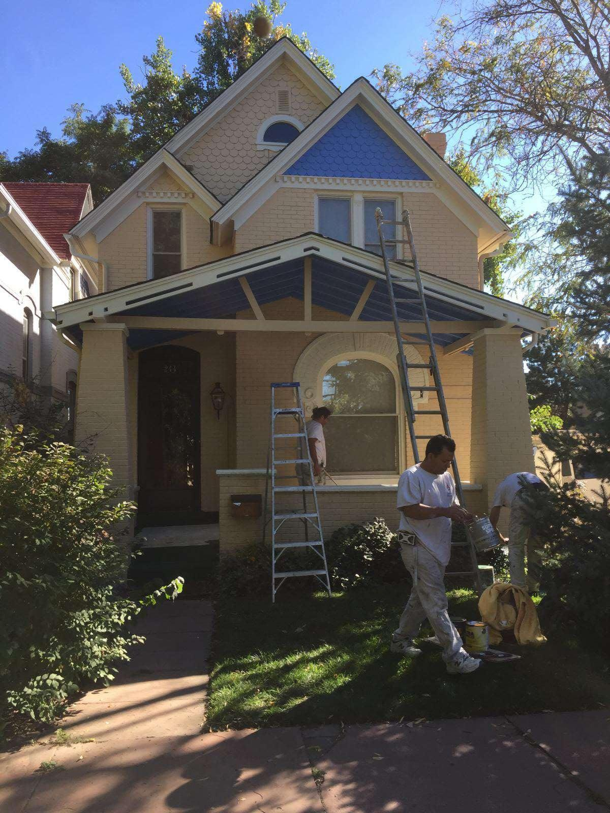 whole house repainting